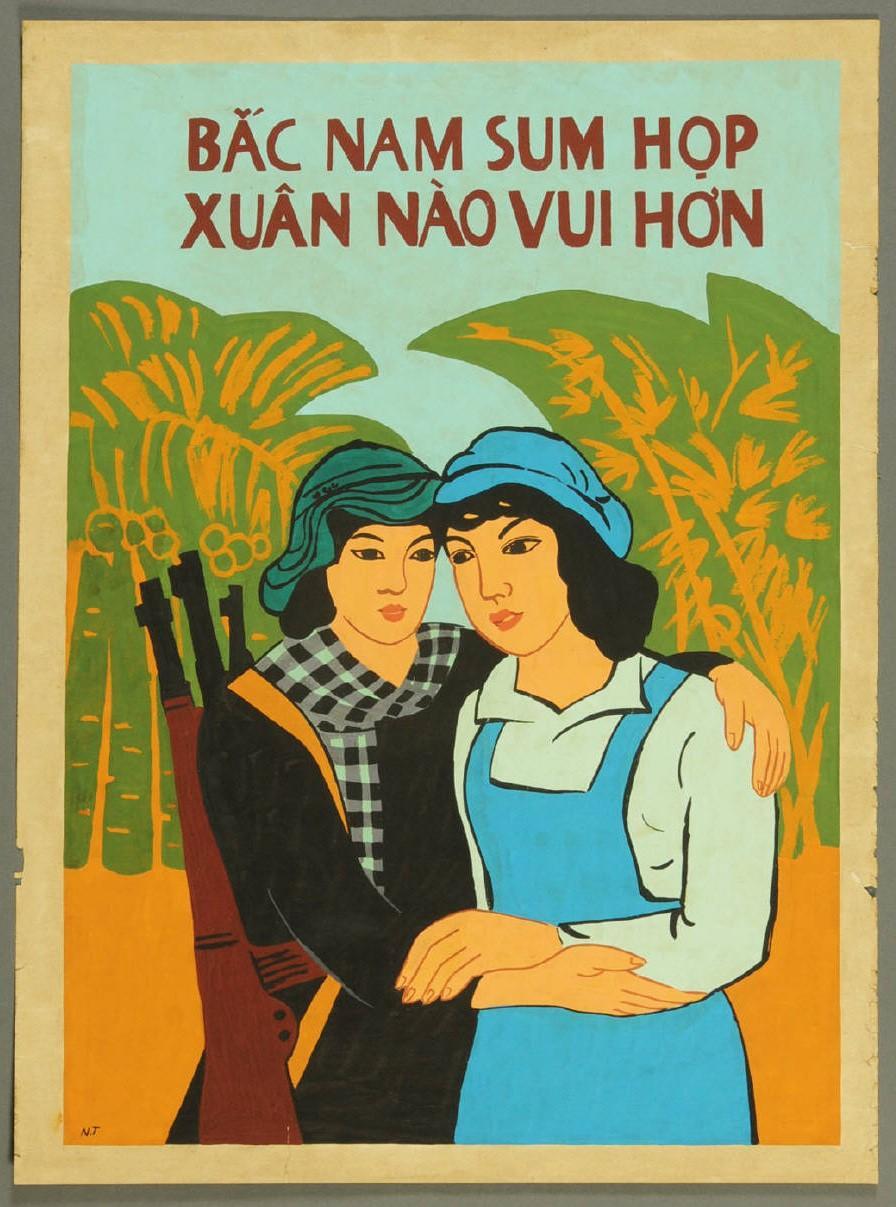 Vietnamese Propaganda Poster: