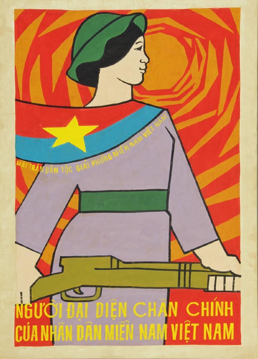 Vietnamese Propaganda Poster: The Liberation