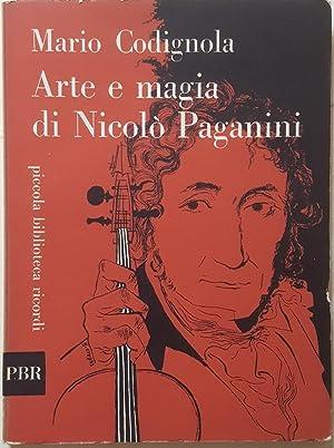 Arte e magia di Nicolò Paganini.: CODIGNOLA, Mario