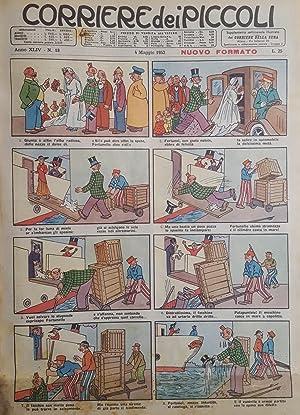 Corriere dei Piccoli. Raccolta di 37 numeri - Anno XLIV 1952.: FUMETTI) CORRIERE DEI PICCOLI