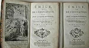 Emile ou l'Education par Jean Jacques Rousseau: ROUSSEAU, Jean Jacques
