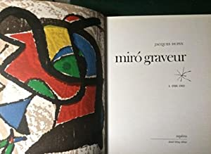Miró Graveur. Tome I. 1928-1960.: DUPIN, Jacques (MIRO?)