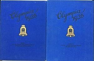 Olympia 1936. Die Olympischen Spiele 1936 in: BERLINO - OLIMPIADI