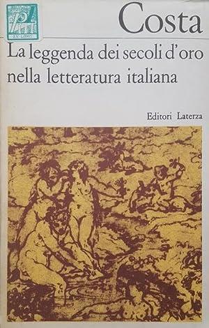 La leggenda dei secoli d'oro nella letteratura: COSTA, Gustavo