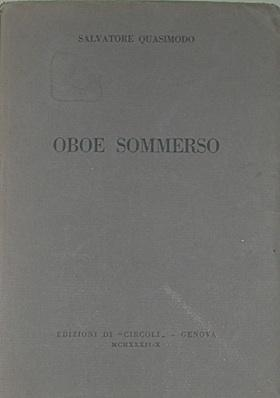 Oboe sommerso.
