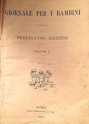 Giornale per i Bambini diretto da Ferdinando: COLLODI, Carlo (PINOCCHIO)