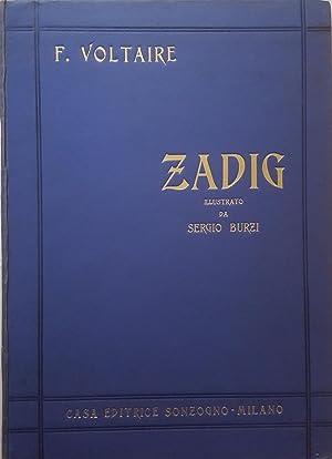 Zadig o il destino. Racconto orientale.: VOLTAIRE, F.