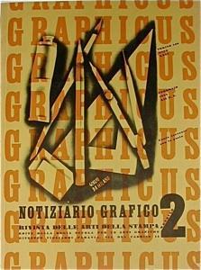 Graphicus. Notiziario grafico 2. Rivista delle arti e della stampa. Febbraio 1934.: GRAPHICUS