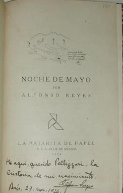 Noche de Mayo por Alfonso Reyes.: REYES, Alfonso