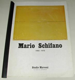 Mario SCHIFANO 1960 - 1970.: SCHIFANO, Mario