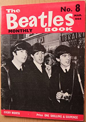 THE BEATLES BOOK MONTHLY No. 8, MARCH: Editor JOHNNY DEAN