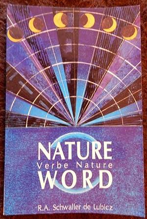 nature word schwaller de lubicz pdf