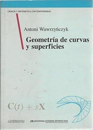 Geometria Diferencial de Curvas y Superficies: Antoni Wawrzynczyk