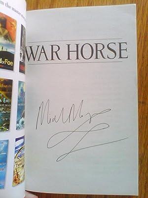 War Horse - signed: Morpurgo, Michael