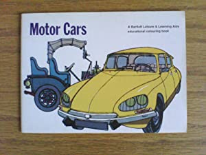 Motor Cars (A Bartlett Leisure and Learning Aids educational colouring book)