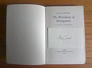 The Weirdstone of Brisingamen - signed proof copy