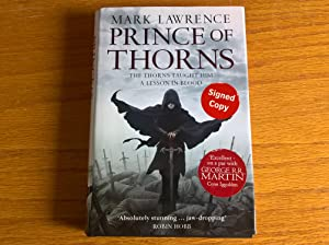 Prince of Thorns (The Broken Empire, Book 1) - signed first edition
