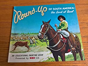 Round-Up of South America - the Land of Beef: An Educational Painting Book
