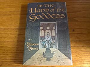 In the Hand of the Goddess (Song of the Lioness S.) - first edition, with bookplate signed by Rob...
