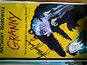 Four hand-signed colour posters: Granny, The Switch, The Devil and His Boy, The Unholy Grail