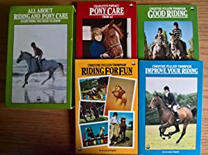 All about Riding and Pony Care (4-volume boxed set)