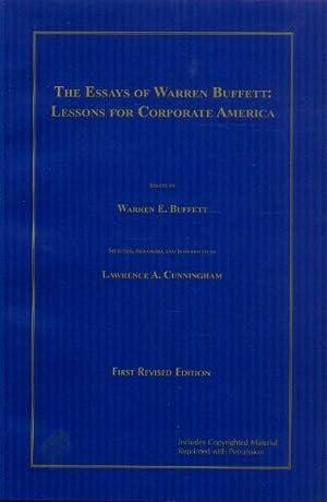 The Essays of Warren Buffett by Lawrence Cunningham   Dr Wealth CFA Institute Blogs