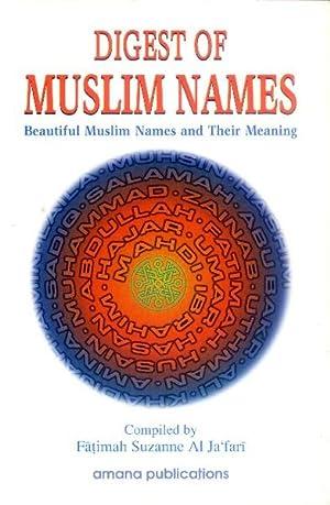 Digest of Muslim Names; Beautiful Muslim Names: Al Ja'fari, Fatimah