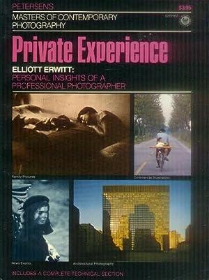The Private Experience: Elliott Erwitt (Masters of: Callahan, Sean