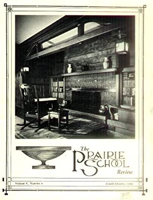 The Prairie School Review: Volume V, Number