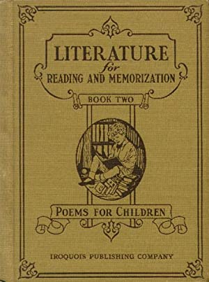 Literature for Reading and Memorization; Poems for: Tucker, Louise E.,