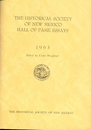 The Historical Society of New Mexico Hall: Westphall, Victor, Editor
