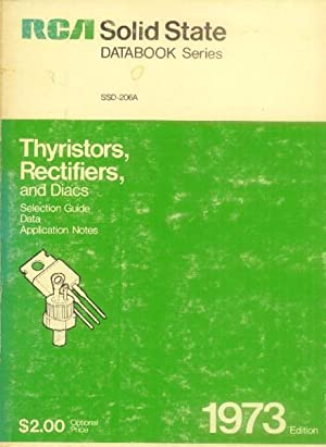 Thyristors, Rectifiers and Diacs: RCA Solid State