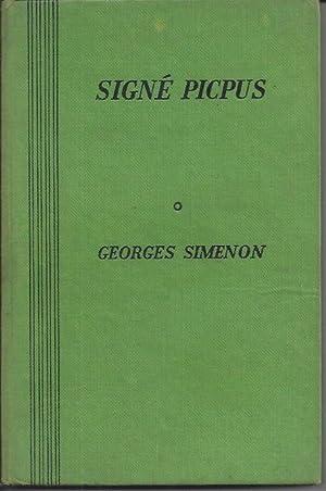Signe Picpus: Simenon, Georges &