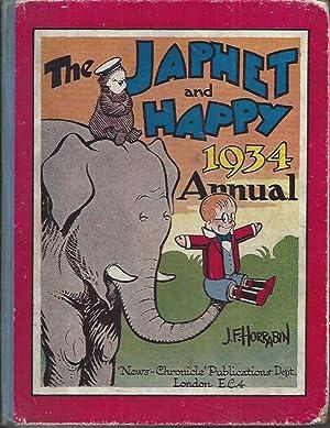 The Japhet & Happy Annual 1934: Horrabin, J F