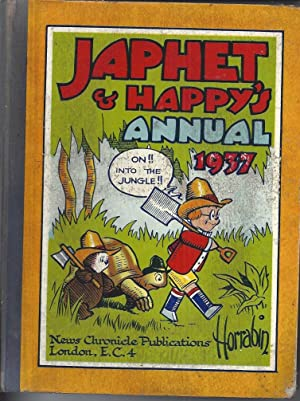 The Japhet & Happy Annual 1937: Horrabin, J F