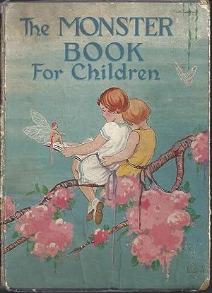 The Monster Book for Children: Stevenson, Mabel M;