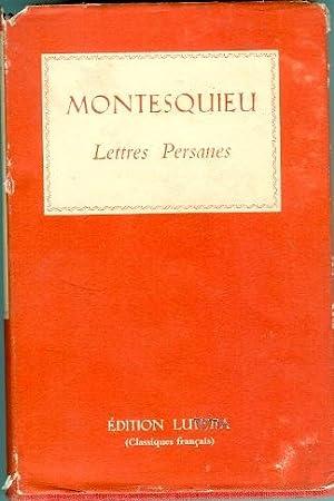 Lettres Persanes Grandeur Et Decadence Des Romains: Montesquieu & Faguet,
