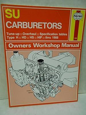 haynes su carburetors owners workshop manual thru 1988 299 haynes rh abebooks co uk haynes su carb manual haynes su carb manual