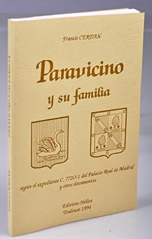 Paravicino y su Familia: CERDAN Francis Textes réunis et présentés