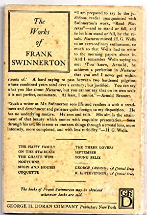 Young Felix: Frank Swinnerton