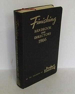 Finishing Handbook and Directory 1966: BEAN, J.E. (ed):