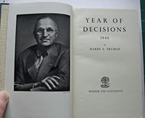 Memoirs of Harry Truman Volumes One and: TRUMAN, Harry S