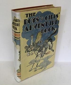 The Boys' and Girls' Adventure Book: CROSSLAND, John R