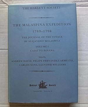 The Malaspina Expedition 1789-1794. Volume I Cadiz: DAVID, Andrew, FERNANDEZ-ARMESTO,