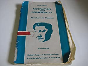 Motivation and Personality: Written: Abraham H. Maslow,