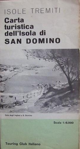 ISOLE TREMITI Carta turistica dell'Isola di San