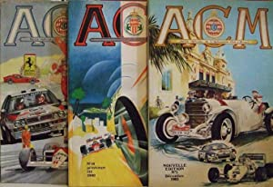 ACM. REVUE OFFICIELLE DE L'AUTOMOBILE CLUB DE MONACO n. 1 Decembre 1983 nouvelle edition (come nu...