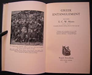 Greek Entanglement: Myers, E. C.