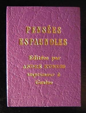 Pensées espagnoles (Miniature)