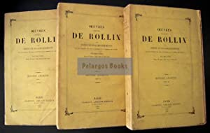 Oeuvres complètes / Histoire ancienne (3 Tomes): Rollin